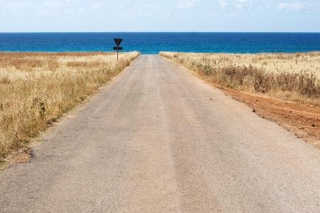 earthly: sicilian coast Stock Photo