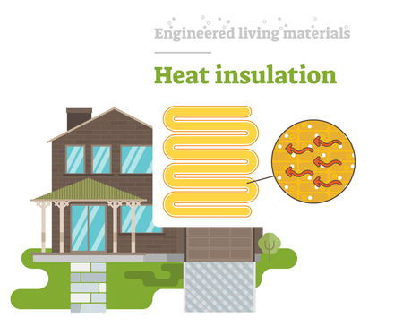 Heat Insulation - Engineered Living Material