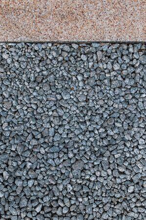 small stones: Dark small stones on the ground
