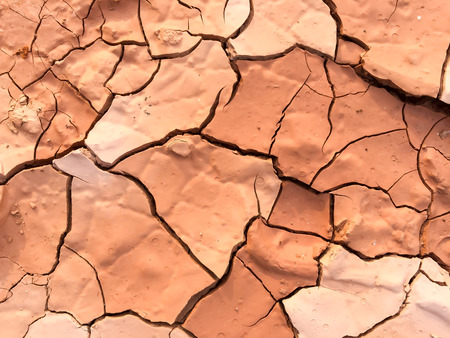 Close up of dry cracked mud on a hot day ideal for represent a global warming and climate change Zdjęcie Seryjne - 78224289
