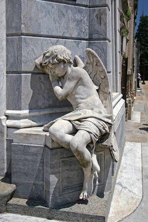 Schlafender Engel, Gomez Mausoleum, Buenos Aires Redactioneel
