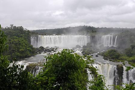 tourismus: Iguazu Wasserf?lle, Argentinien Stock Photo