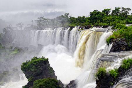wasser: Iguazu Wasserf?lle, Argentinien Stock Photo