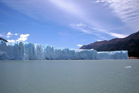 moreno: Perito Moreno glacier, Argentina Stock Photo