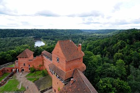 sigulda: Castillo de Sigulda, Letonia