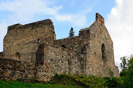 templars: Sigulda castle ruins, Sigulda, Latvia