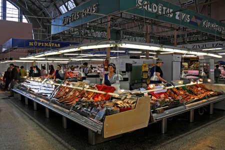 central market: Mercado Central de Riga, Letonia