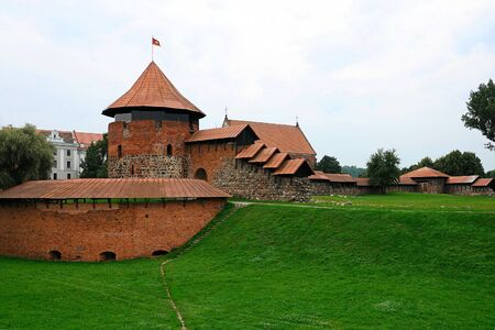restoring: Castle in Kaunas, Lithuania