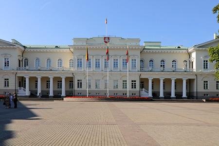 vilnius: Presidential Palace in Vilnius, Lithuania Editorial