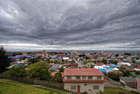 punta arenas: Punta Arenas, Chile Stock Photo