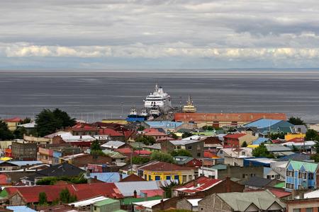 arenas: Punta Arenas, Chile Editorial