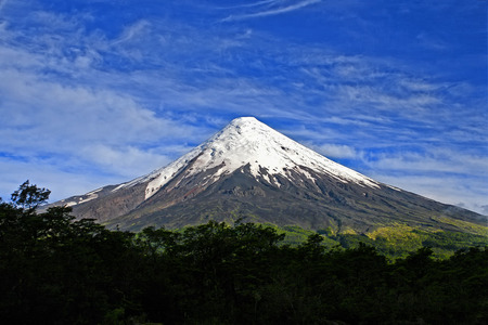 Osorno, Chile Stock Photo
