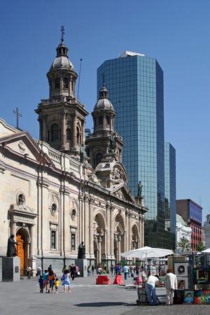 hauptplatz: Plaza de Armas, Santiago de Chile