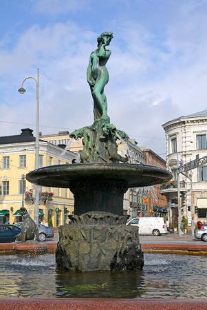 amanda: Fountain daughter of the Baltic Sea, Helsinki