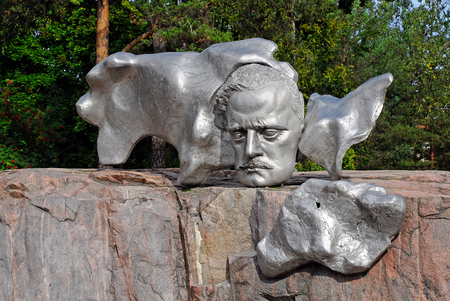 sibelius: Sibelius monument in Helsinki, Finland