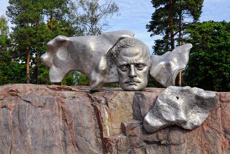 helsinki: Sibelius monument in Helsinki, Finland