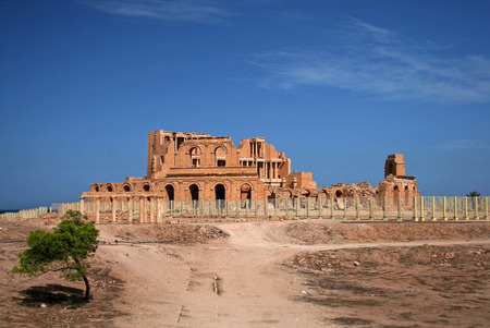 libya: Sabratha, Libya Editorial