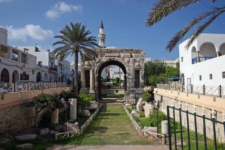 Triumphal Arch of Marcus Aurelius, Tripoli, Libya