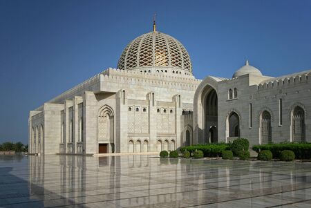 muscat: Grand Mosque in Muscat, Oman Editorial