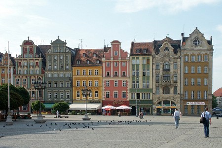 poland: Old Town, Wroclaw, Poland