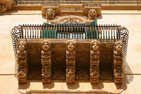sicily: Palazzo Villadorata, Noto, Sicily