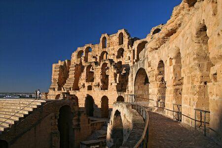 el: Amphitheatre of El Jem, Tunisia