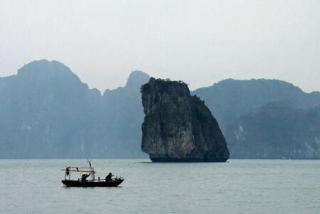 halong: Halong bay in Vietnam