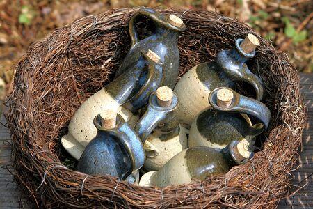 phial: small bottles