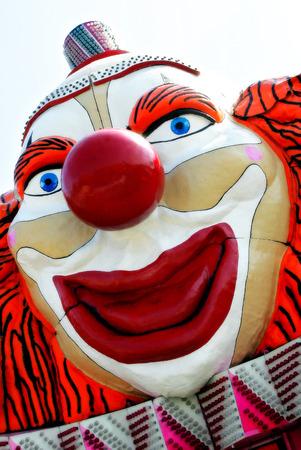 clowngesicht: Clown-Gesicht Lizenzfreie Bilder