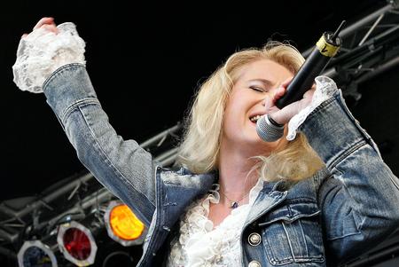 star: Pop star Nicole Editorial