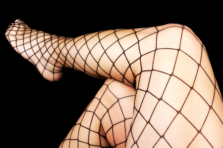 eroticism: Net stocking