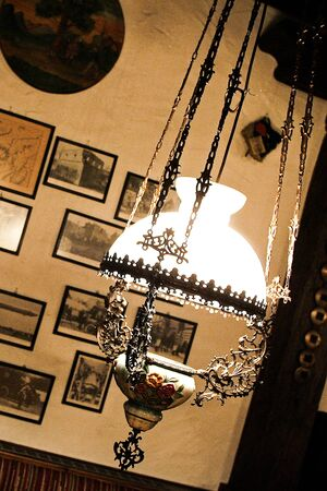 in old style: Lamp Old Style