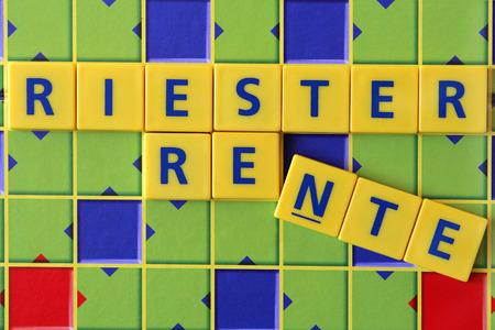 oldage: Riester Pension