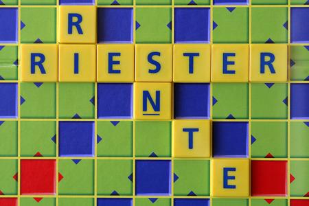 pension: Riester Pension