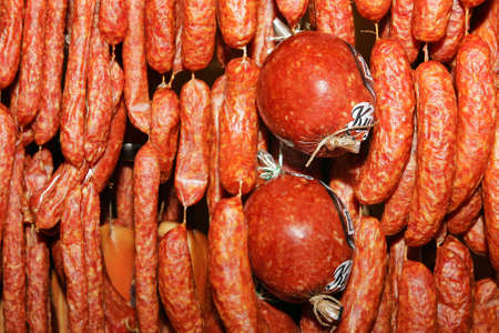 smoked sausage: Smoked sausage