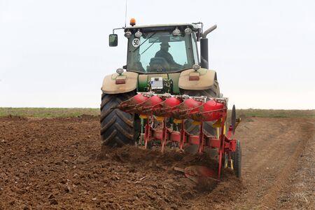 ploughing: plow