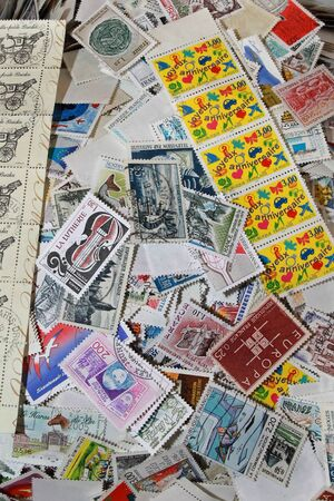 stamp collection: Stamps