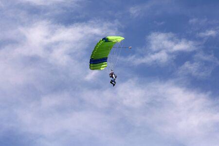 slideshow: Parachutist Stock Photo