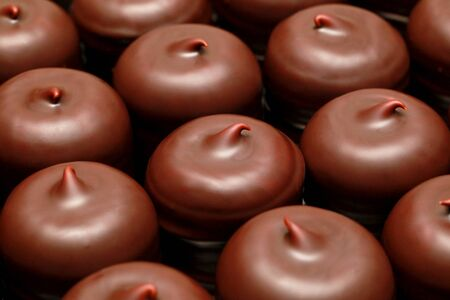calory: Schokokuss Stock Photo