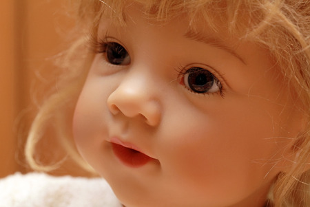 babydoll: Baby-doll face
