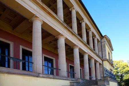 historically: Villa Ludwigshhe in der Pfalz