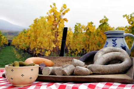vespers: Homemade liverwurst