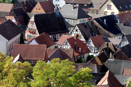bird 's eye view: Ilbesheim