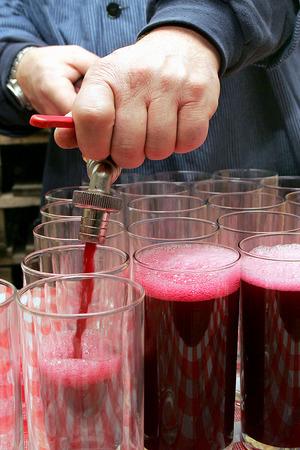 redwine: wine fill