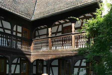 historically: Frank Loeb Moorish House in Landau