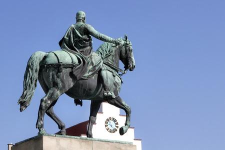 regent: Reiterdenkmal Prince Regent Luitpold of Bavaria