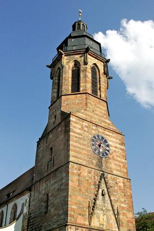 steeples: Landau Stock Photo