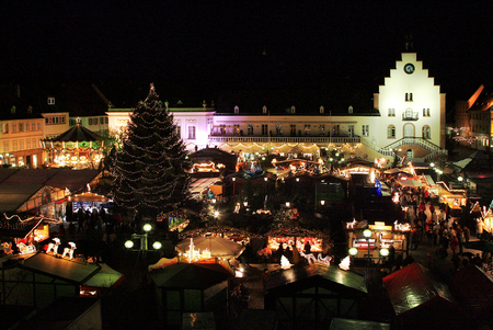 christmas market: Christmas market in Landau