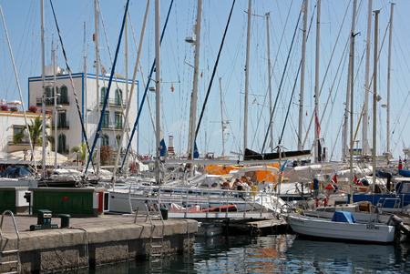 the little venice: Puerto de Mogan, Gran Canaria