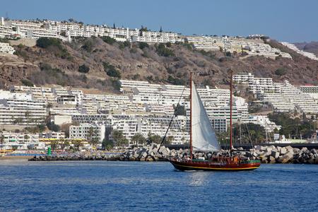 rico: Coast in Puerto Rico, Gran Canaria